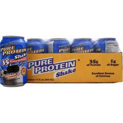 WORLDWIDE SPORTS Ultra Pure Protein Shake (11 fl.oz.) Cookies 'n Creme 12 cans