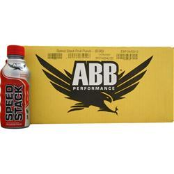 AMERICAN BODYBUILDING Speed Stack RTD Fruit Punch 24 bttls