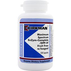 KIRKMAN Maximum Spectrum EnZyme-Complete 120 caps