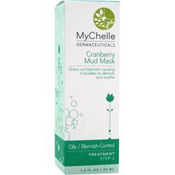 MYCHELLE DERMACEUTICALS Cranberry Mud Mask 1.2 fl.oz