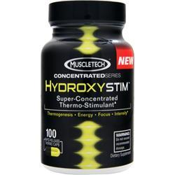 MUSCLETECH HydroxyStim - Super Concentrated Thermo Stimulant 100 caps