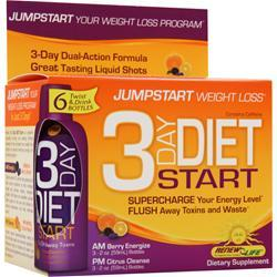 Renew Life 3 Day Diet Start Berry/ Citrus 6 bttls