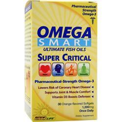 RENEW LIFE Omega Smart - Ultimate Fish Oils Orange 30 sgels
