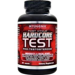 MYOGENIX Hardcore Test 80 caps