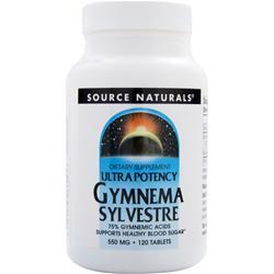 Source Naturals Gymnema Sylvestre - Ultra Potency 120 tabs