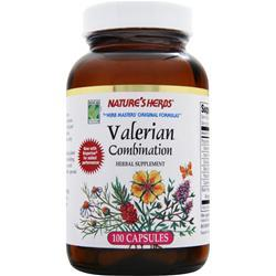 NATURE'S HERBS Valerian Combination 100 caps