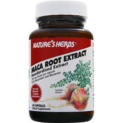 NATURE'S HERBS Maca Root Extract - Standardized Extract 60 caps