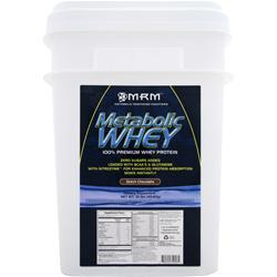 MRM Metabolic Whey - 100% Premium Whey Protein Dutch Chocolate 10 lbs