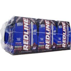 VPX SPORTS Redline Energy Drink Grape 24 bttls