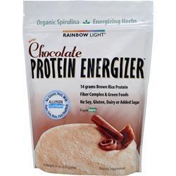 Rainbow Light Protein Energizer (Rice Protein) Chocolate 11 oz