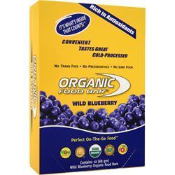 ORGANIC FOOD BAR Meal Bar Wild Blueberry 12 bars