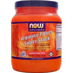 NOW Arginine Power Super Stack Tropical Punch 2.2 lbs