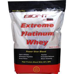 BIOPLEX NUTRITION Biofit Extreme Platinum Whey Creamy French Vanilla 10 lbs