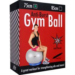 J-FIT Anti-Burst Gym Ball with Pump 75cm - Green 1 ball