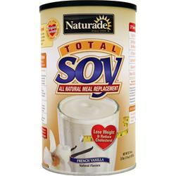 NATURADE Total Soy Meal Replacement French Vanilla 2.4 lbs