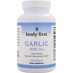 BODY FIRST Garlic (500mg) 120 sgels