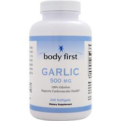BODY FIRST Garlic (500mg) 240 sgels