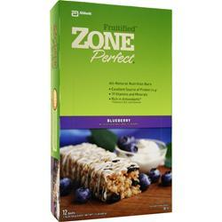 ZONE PERFECT Fruitified Bar Blueberry 12 bars