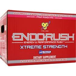 BSN Endorush Xtreme Strength RTD Fruit Punch Fix 12 bttls