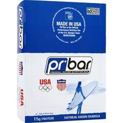 PR NUTRITION PR Bar - Personal Record Nutrition Bar Oatmeal Raisin Granola 12 bars