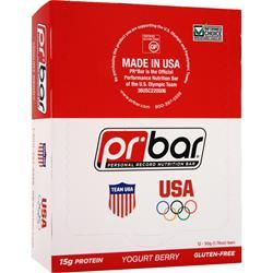 PR NUTRITION PR Bar - Personal Record Nutrition Bar Yogurt Berry 12 bars