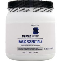 TWINLAB Bariatric Support - Basic Essentials Chocolate Best by 2/15 635 grams