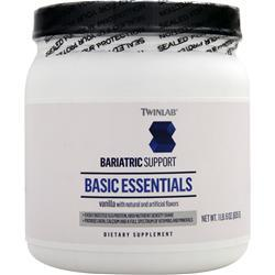 TWINLAB Bariatric Support - Basic Essentials Vanilla 635 grams