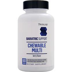 TWINLAB Bariatric Support - Chewable Multi Berry 60 tabs