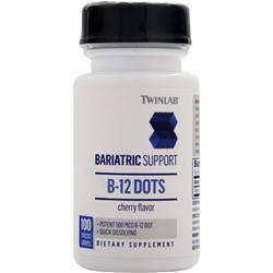 TwinLab Bariatric Support - B-12 Dots (500mcg) Cherry 100 tabs