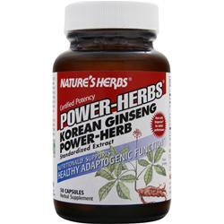 NATURE'S HERBS Power-Herbs Korean Ginseng Power Herb 50 caps