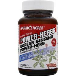 Nature's Herbs Power-Herbs Korean Ginseng Power Herb 50 caps
