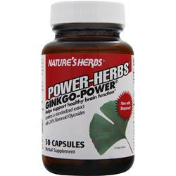 NATURE'S HERBS Ginkgo - Power 50 caps