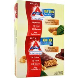 ATKINS Advantage Bar Chocolate Peanut Butter 12 bar