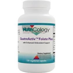 Nutricology QuatreActiv Folate Plus with Enhanced Antioxidant Support 120 vcaps