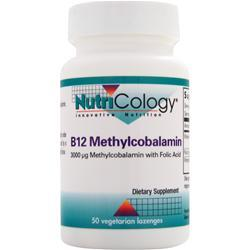 NUTRICOLOGY B12 Methylcobalamin 50 lzngs
