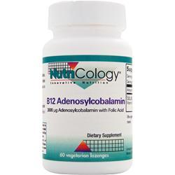 NUTRICOLOGY B12 Adenosylcobalamin 60 lzngs