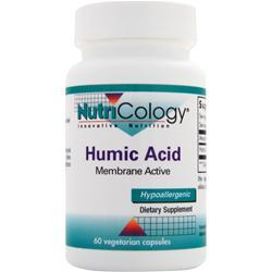 NUTRICOLOGY Humic Acid 60 vcaps