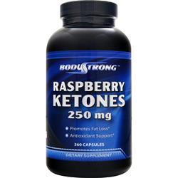 BodyStrong Raspberry Ketones (250mg) 360 caps