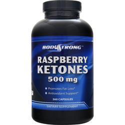 BodyStrong Raspberry Ketones (500mg) 360 caps