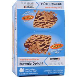 Apex Brownie Delight Reese's 12 unit