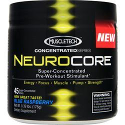 MUSCLETECH Neurocore Blue Raspberry (New) .39 lbs