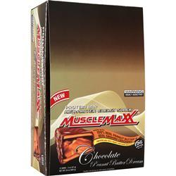 MUSCLE MAXX Protein Bar - High Protein Energy Snack Chocolate PB Dream 12 bars