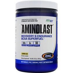GASPARI NUTRITION Aminolast - Recovery & Endurance BCAA Superfuel Lemon Ice 420 grams