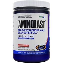 GASPARI NUTRITION Aminolast - Recovery & Endurance BCAA Superfuel Strawberry Kiwi 420 grams