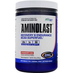 Gaspari Nutrition Aminolast - Recovery & Endurance BCAA Superfuel Strawberry Kiwi 420 grams