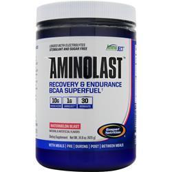 GASPARI NUTRITION Aminolast - Recovery & Endurance BCAA Superfuel Watermelon Blast 420 grams