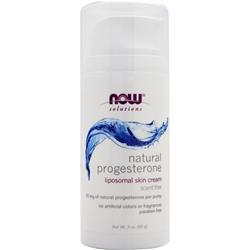 NOW Natural Progesterone Cream 3 oz