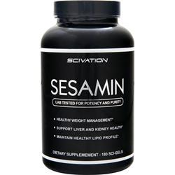SCIVATION Sesamin 180 sgels