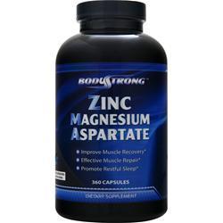BodyStrong Zinc Magnesium Aspartate 360 caps
