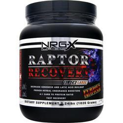 NRG-X Labs Raptor Recovery Furious Fruit Punch 2.24 lbs